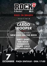 In data de 7 octombrie are loc lansarea oficiala Rock FM Brasov!