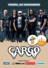 Concert Cargo la Beraria H pe 25 Noiembrie