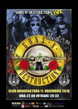 Tribute Guns N' Roses cu maghiarii de la Guns N' Destruction la Timisoara