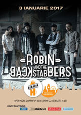 Robin and the Backstabbers concerteaza la Beraria H