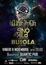 Sinoptik, Hteththemeth si Busola concerteza in club Quantic pe 11 noiembrie
