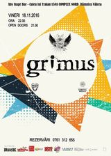 Concert Grimus pe 18 noiembrie in ABY STAGE BAR