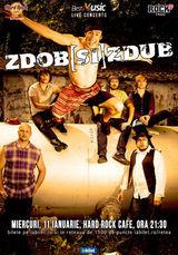 Zdob si Zdub concerteaza pe 11 ianuarie la Hard Rock Cafe