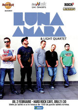 Concert Luna Amara & Light Quartet pe 2 februarie la Hard Rock Cafe
