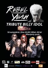 Tribute Billy Idol cu maghiarii de la Rebel Yeah la Timisoara