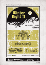 Winter Nights in Fabrica partea a II-a : TOTHEM, DINUMBRA, RECURSIVE DELUSION, ETHERIC