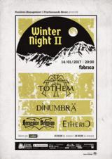 Winter Nights in Fabrica partea a II-a : TOTHEM, DINUMBRA, RECURSIVE DELUSION, ETHERIC