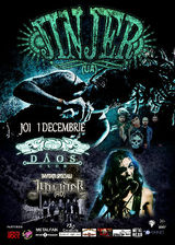 Concert Invader si Jinjer pe 1 decembrie in Club Daos