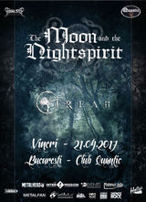 Concert The Moon and the Nightspirit si Irfan pe 21 aprilie in Quantic