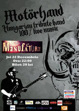 Tribut Motorhead la Timisoara pe 22 Decembrie