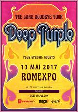 Deep Purple la Bucuresti cu turneul 'The Long Goodbye'