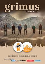 Concert Grimus pe 23 ianuarie la Beraria H