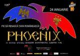 Concert Phoenix pe 24 ianuarie la Beraria H