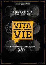 Vita De Vie lanseaza Sase (+) pe 9 februarie la Sibiu