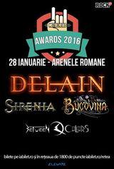 Concert Bucovina, Sirenia si Delain pe 28 ianuarie la Arenele Romane (cort incalzit)