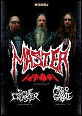 Concert Master cu Haniwa (IT), Mass Grave (BG) si Spinecrusher (RO) in deschidere
