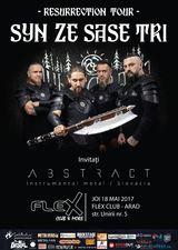 Syn Ze Sase Tri concerteaza la Arad pe 18 mai