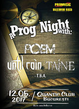 Concert Poem, Until Rain si Taine in Quantic Club