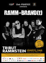 Music for Autism: Rammbrandt - tribut Rammstein, pe 11 martie in Club Phoenix