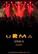 Concert URMA  SPRING 14 / pe 29 martie la Expirat Halele Carol