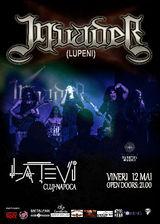 Concert Invader pe 12 mai la Cluj Napoca