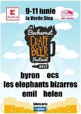 Bucharest Craft Beer Festival intre 9 si 11 iunie la Verde Stop