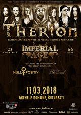 Therion va concerta la Bucuresti in 2018