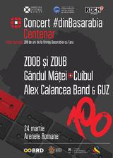 Concert #dinBasarabia - editia Centenar pe 24 Martie la Arenele Romane