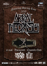 Concert Akral Necrosis pe 18 Mai in Quantic din Bucuresti