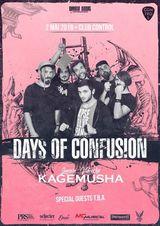 Days of Confusion lanseaza videoclipul 'Kagemusha' pe 2 Mai in Control
