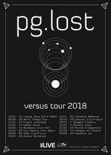 Concert PG.LOST pe 27 Mai in Reflektor Venue din Timisoara