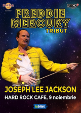 Joseph Lee Jackson in Hard Rock Cafe Tribut Freddie Mercury