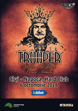 Trooper lanseaza Stefan Cel Mare Poemele Moldovei in Cluj-Napoca