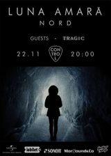 Concert Luna Amara in Club Control din Bucuresti pe 22 noiembrie