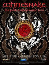 Whitesnake - The Flesh & Blood World Tour pe 1 Iulie la Arenele Romane