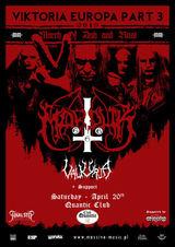 Concert Marduk pe 20 Aprilie in Quantic