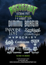 Rockstadt Extreme Fest 2019 in perioada 1-4 August