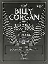 Billy Corgan (Smashing Pumpkins) Special exclusive show pe 9 Iulie la Beraria H