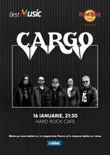 Concert Cargo pe 16 ianuarie 2020 in Hard Rock Cafe