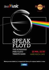 Concert Tribut Pink Floyd cu Speak Floyd pe 22 mai la Hard Rock Cafe