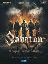 SABATON - The Great Tour pe 14 August la Arenele Romane
