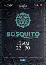 Concert Bosquito pe 15 mai la Hard Rock Cafe