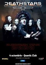 DEATHSTARS canta la Quantic Club pe 4 Octombrie