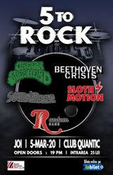 5 To Rock in Quantic pe 5 martie
