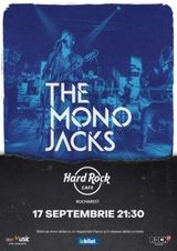 Concert The Mono Jacks pe 17 septembrie