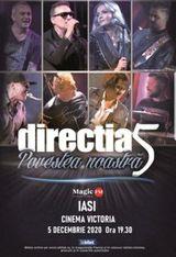 Iasi: Concert Directia 5 - Povestea Noastra pe 5 decembrie