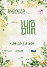 Concert acustic byron pe 14 august la Backyard Acoustic Season