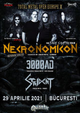 Concert Necronomicon in Club Quantic