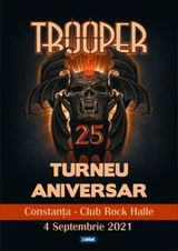 Constanta: Concert aniversar Trooper pe 4 septembrie
