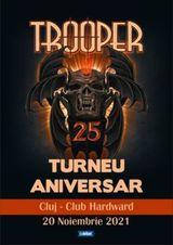 Cluj-Napoca: Concert aniversar Trooper pe 20 noiembrie
